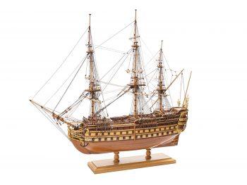 Maquette de collection - Mistral Maquettes - La Bretagne - 92 cm - vue latérale bâbord avant