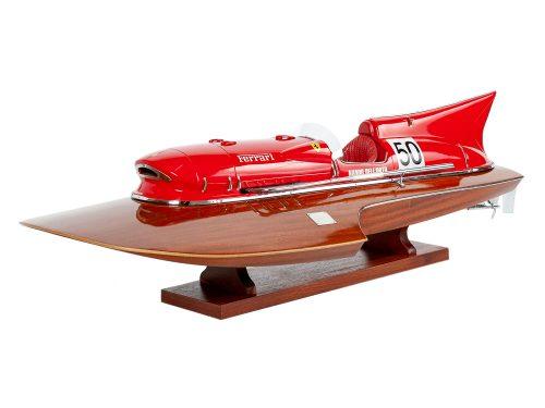 Maquette d'exposition entièrement montée - Mistral Maquettes - Arno XI - 79 cm - vue latérale babord