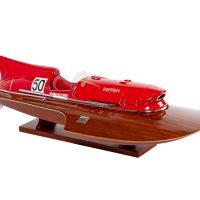 Maquette d'exposition entièrement montée - Mistral Maquettes - Arno XI - 79 cm - vue latérale tribord