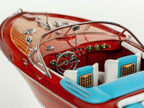 Maquette d'exposition entièrement montée – Mistral Maquettes - Aquarama Bleu - 68 cm - vue cockpit