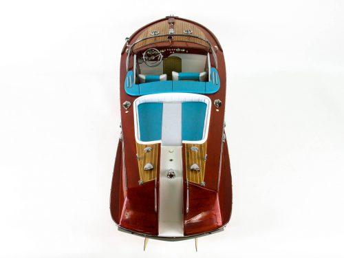 Maquette d'exposition entièrement montée – Mistral Maquettes - Aquarama Bleu - 90 cm - vue plongenate