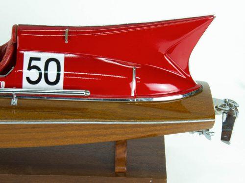 Maquette d'exposition entièrement montée – Mistral Maquettes - Arno XI - 79 cm - Vue arrière latérale babord