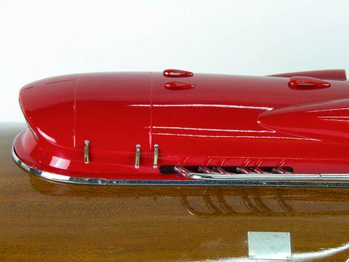 Maquette d'exposition entièrement montée – Mistral Maquettes - ArnoXI 79 cm - Vue avant latérale babord