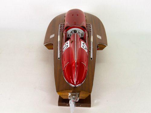 Maquette d'exposition entièrement montée – Mistral Maquettes - ArnoXI 79 cm - Vue plongeante arrière