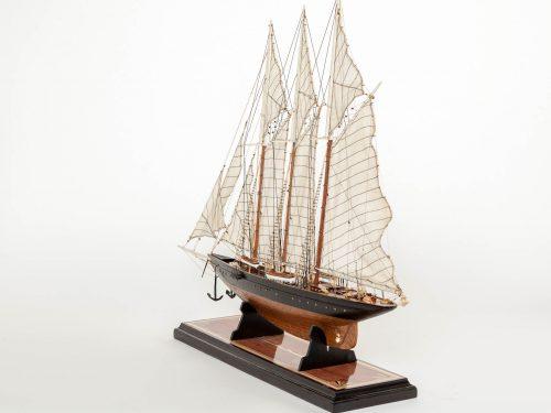 Maquette d'exposition entièrement montée – Mistral Maquettes - Atlantic - 78 cm - Vue globale babord arrière