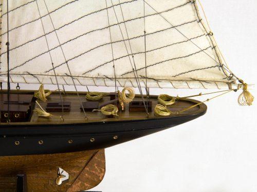 Maquette d'exposition entièrement montée – Mistral Maquettes - Atlantic - 78 cm - Vue latérale babord arrière
