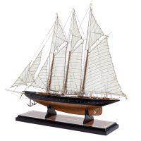 Maquette d'exposition entièrement montée – Mistral Maquettes - Atlantic - 78 cm - vue globale babord