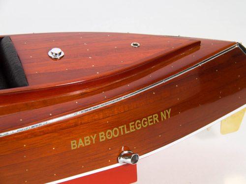 Maquette d'exposition entièrement montée – Mistral Maquettes - Babybootlager - 70 cm - Vue babord arrière