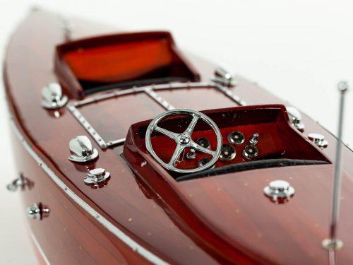 Maquette d'exposition entièrement montée – Mistral Maquettes - Babybootlager - 70 cm - Vue cockpit
