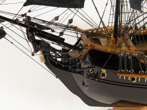 Maquette d'exposition entièrement montée – Mistral Maquettes - Black Pearl - 88 cm - vue avant