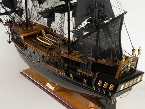 Maquette d'exposition entièrement montée – Mistral Maquettes - Black Pearl - 88 cm - vue plongeante globale