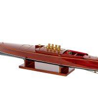 Maquette d'exposition entièrement montée - Mistral Maquettes - Dixie II - 98 cm - vue latérale babord