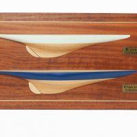 Maquette d'exposition entièrement montée – Mistral Maquettes - Double Demi coque