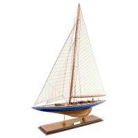 Maquette d'exposition entièrement montée –Mistral Maquettes - L'Endeavour - 62 cm - vue globale bâbord avant