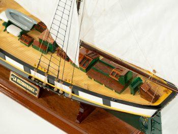Maquette d'exposition entièrement montée –Mistral Maquettes - La Recouvrance - 80 cm - vue pont arrière