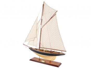 Maquette d'exposition entièrement montée –Mistral Maquettes - Le Pen Duick - 74 cm - vue globale bâbord arrière