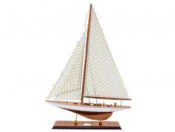 Maquette d'exposition entièrement montée –Mistral Maquettes - Le Rainbow - 62 cm - vue latérale bâbord