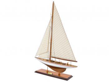 Maquette d'exposition entièrement montée –Mistral Maquettes - Le Rainbow - 62 cm - vue latérale bâbord arrière