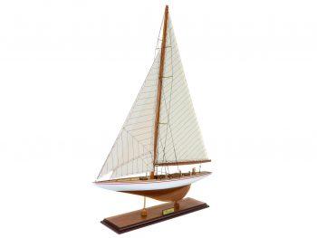 Maquette d'exposition entièrement montée –Mistral Maquettes - Le Rainbow - 62 cm - vue latérale bâbord avant