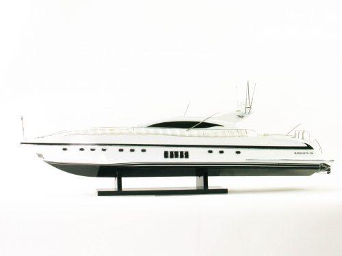 Maquette d'exposition entièrement montée – Mistral Maquettes - Mangusta - 85 cm - Vue babord