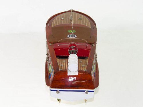Maquette d'exposition entièrement montée – Mistral Maquettes - Montecarlo - 68 cm - Vue plongeante
