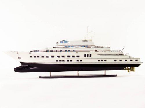 Maquette d'exposition entièrement montée – Mistral Maquettes - Pelorus - 90 cm - Vue latérale babord