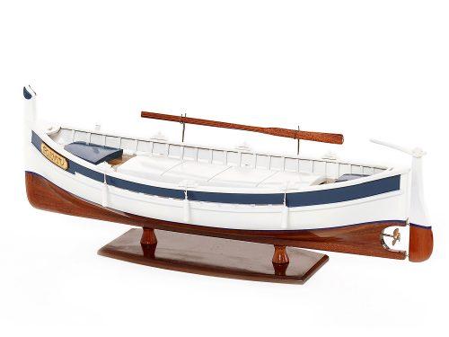 Maquette d'exposition entièrement montée – Mistral Maquettes - Pointu - 50 cm - Vue latérale babord