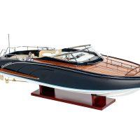 Maquette d'exposition entièrement montée - Mistral Maquettes - Rivarama - 68 cm - vue latérale tribord