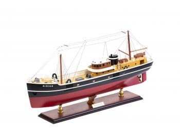 Maquette d'exposition entièrement montée - Mistral Maquettes – Le Sirius - 66 cm - vue globale bâbord avant