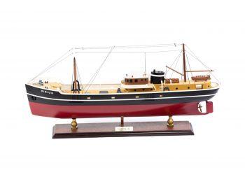 Maquette d'exposition entièrement montée - Mistral Maquettes – Le Sirius - 66 cm - vue latérale bâbord
