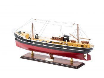 Maquette d'exposition entièrement montée - Mistral Maquettes – Le Sirius - 66 cm - vue globale bâbord arrière