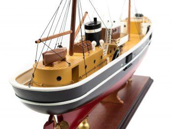 Maquette d'exposition entièrement montée - Mistral Maquettes – Le Sirius - 66 cm - vue tribord poupetimonerie