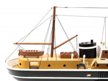 Maquette d'exposition entièrement montée - Mistral Maquettes – Le Sirius - 66 cm - vue tribord arrière