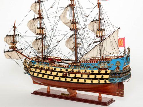 Maquette d'exposition entièrement montée – Mistral Maquettes - San Felipe - 81 cm - vue latérale babord arrière