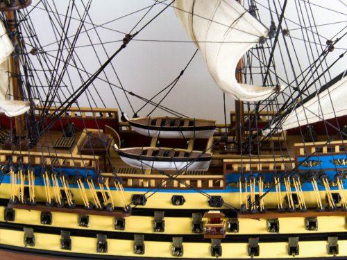 Maquette d'exposition entièrement montée – Mistral Maquettes - San Felipe - 81 cm - vue pont central