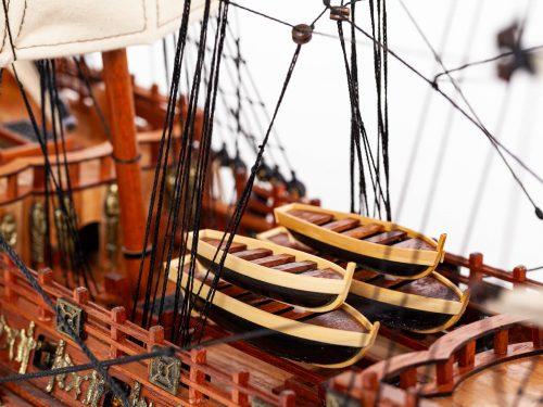 Maquette d'exposition entièrement montée – Mistral Maquettes - Sovereign of the seas - 95 cm - vue pont central