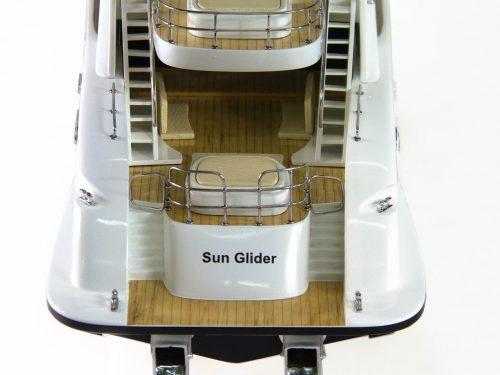 Maquette d'exposition entièrement montée – Mistral Maquettes - Sun Glider - 88 cm - vue arrière