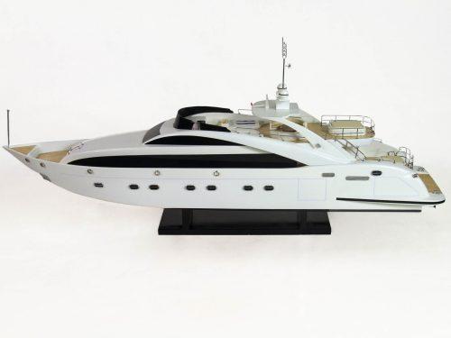 Maquette d'exposition entièrement montée – Mistral Maquettes - Sun Glider - 88 cm - vue babord