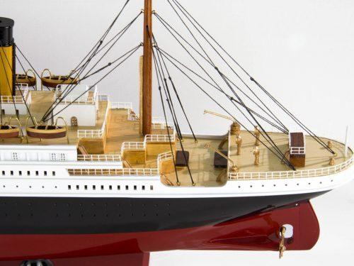 Maquette d'exposition entièrement montée – Mistral Maquettes - Titanic - 101 cm - vue babord arrière