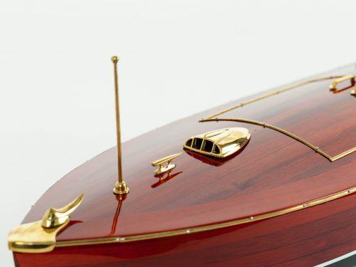 Maquette d'exposition entièrement montée – Mistral Maquettes - Zipper - 77 cm - vue bâbord avant