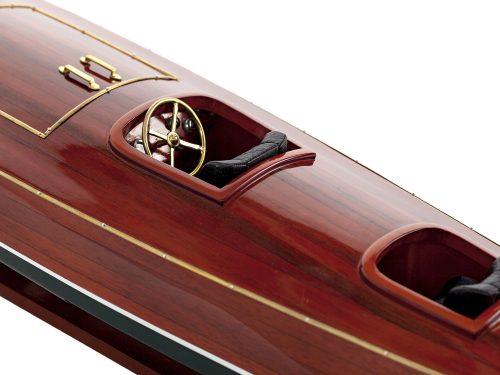 Maquette d'exposition entièrement montée - Mistral Maquettes - Zipper - 77 cm - vue centrale bâbord