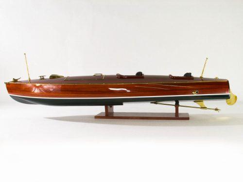 Maquette d'exposition entièrement montée – Mistral Maquettes - Zipper - 77 cm - vue latérale
