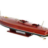 Maquette d'exposition entièrement montée - Mistral Maquettes - Zipper - 77 cm - vue latérale bâbord