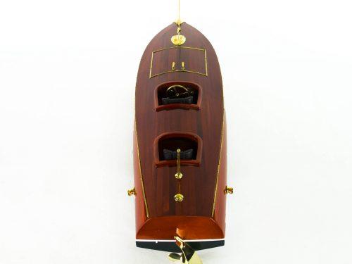 Maquette d'exposition entièrement montée – Mistral Maquettes - Zipper - 77 cm - vue plongeante