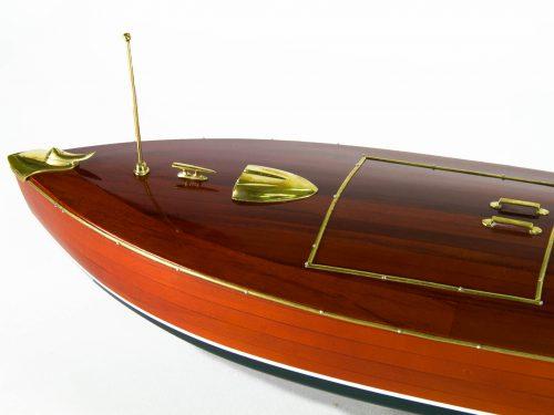 Maquette d'exposition entièrement montée – Mistral Maquettes - Zipper - 77 cm - vue plongeante avant