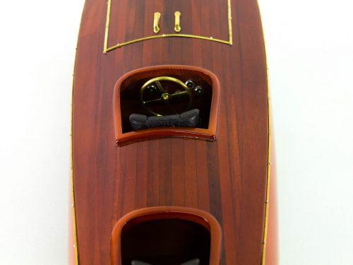 Maquette d'exposition entièrement montée – Mistral Maquettes - Zipper - 77 cm - vue plongeante centrale