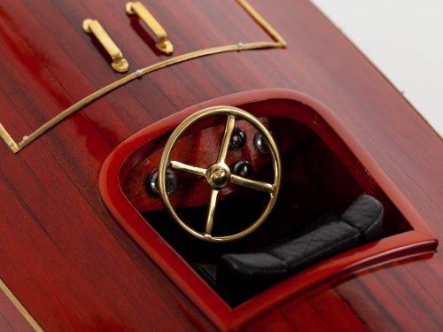 Maquette d'exposition entièrement montée – Mistral Maquettes - Zipper - 77 cm - vue cockpit