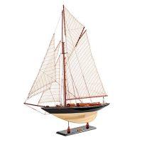 Maquette de collection montée du voilier Pen Duick (75 cm), vue d'ensemble