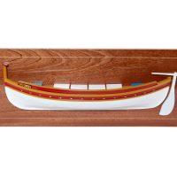 Mistral Maquettes - demi coque barque Catalane - 65 cm x 24 cm