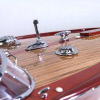maquette canot moteur acquarama bleue